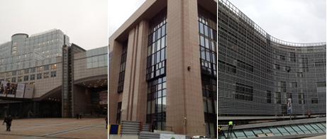 EU-parlamentet, Rådet och Kommissionen