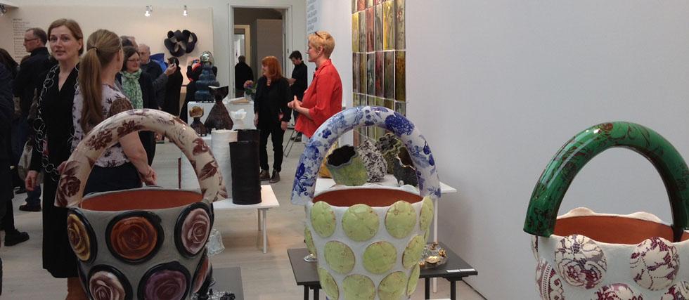 Konsthantverkskollektivet blås&knåda på Saatchi Gallery i London