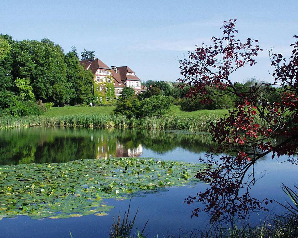 Amerikasjön i Botaniska trädgården i berlin_980 utvald