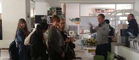 Nordiska designer på besök i Berlin.