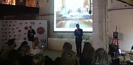 Gustaf och Daniel föreläser på Art Play i Moskva