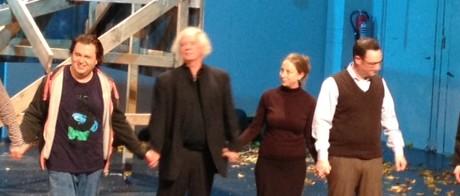 Ulf Stark i applådtack på Deutsche Oper i Berlin