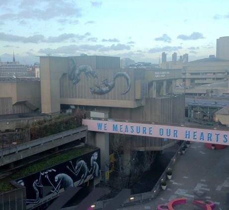 Utsikt över Southbank Centre