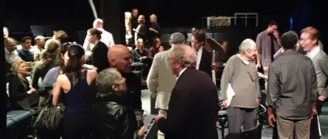Lynn Redgrave Theatre före föreställningen.