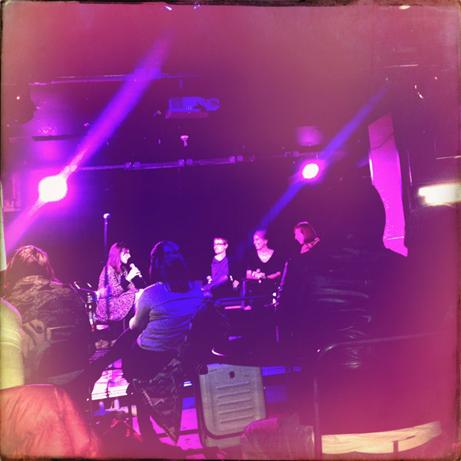 Samtal med Malte Persson, Cilla Naumann och Saskia Vogel på Ace Hotel.