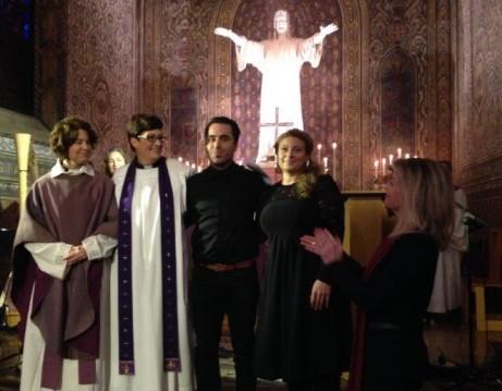 Söndagen den 1a februari arrangerade Svenska kyrkan i Paris en särskild högmässa i ord och ton med anledning av terrorattentaten i Paris för att värna tolerans och respekt mellan människor.