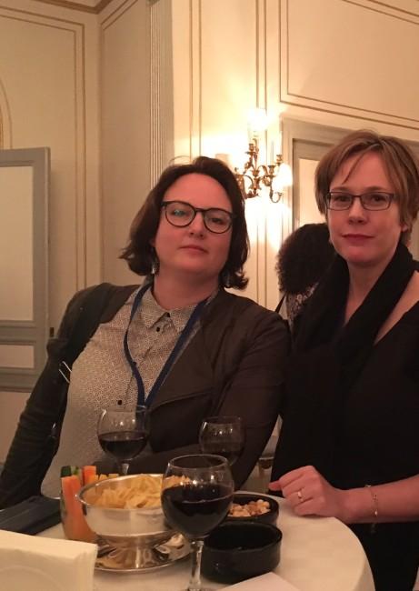 De två författarna