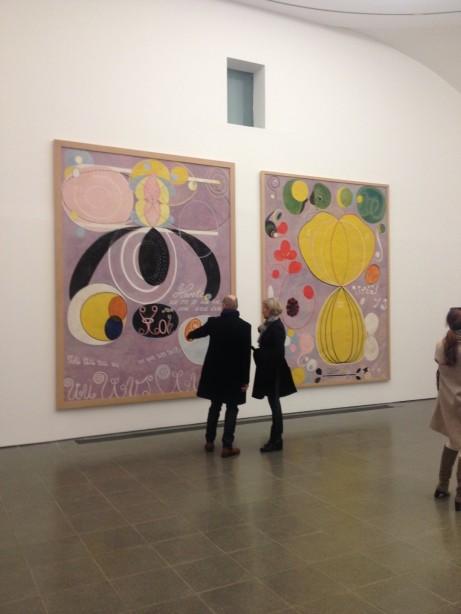 Hilma af Klint på Serpentine Gallery