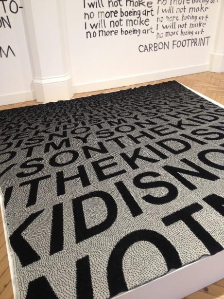 Karl Holmqvist på Camden Arts Centre