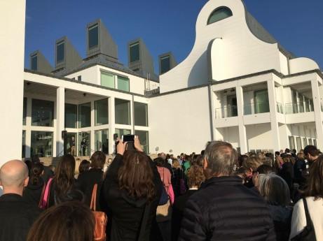 Invigningen av BIBU2016 på Dunkers Kulturhus