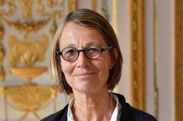 Frankrikes nya kulturminister Françoise Nyssen. Foto: Frankrikes Kulturdepartement