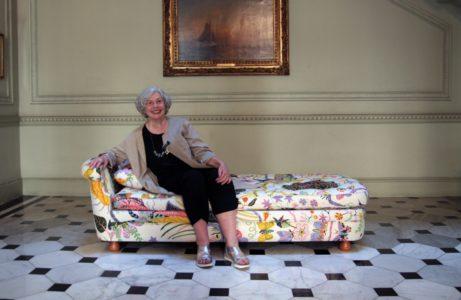Jenni Lomax på svenska residenset