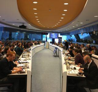 Ja, så här ser det ut, Sinnebilden av evenemang på EU-nivå är ofta ett möte runt ett eller flera stora bord. Fota Mikael Schultz
