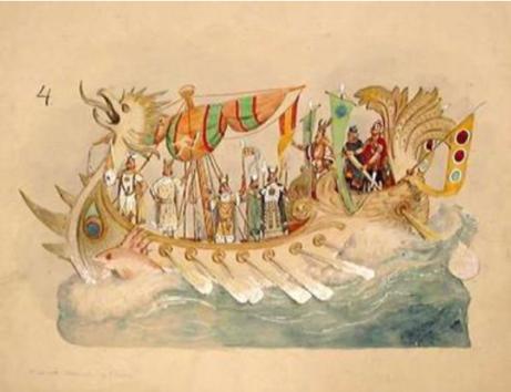 Från utställningen Bror Anders Wikstrom: Bringing Fantasy to Carnival.