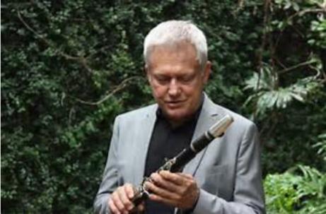 Jazzmusikern Örjan Kjellin.