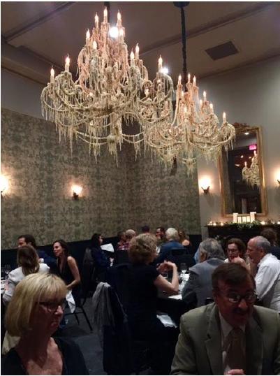 Middag på Ace Hotel arrangerat av CAC.