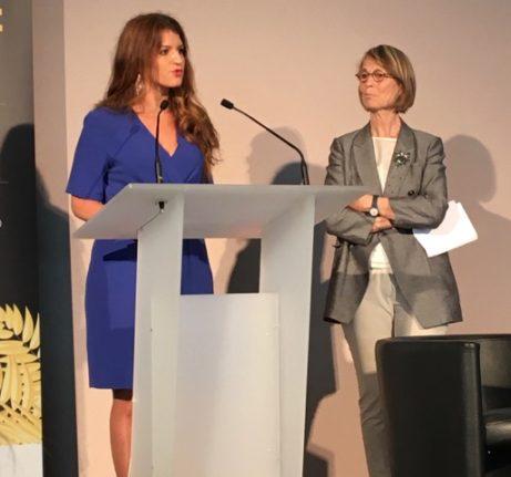 Franska jämställdhetsministern Marlène Schappa