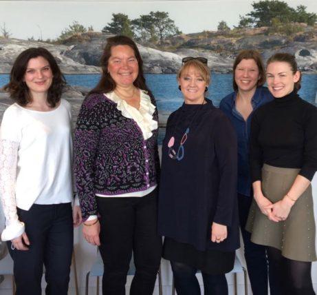 Mitt första möte med Sveriges UNESCO-ambassadör Annika Markovic och hennes medarbetare när vi enades om att göra detta besök