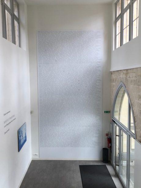 Namnen på de över 6000 deltagande konstnärerna