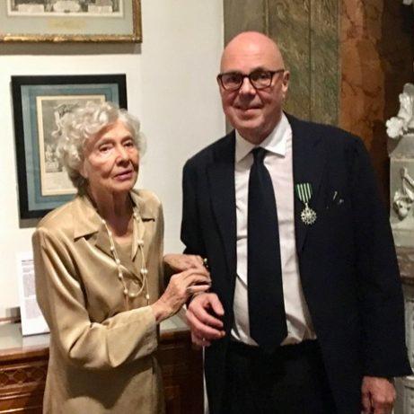 Staffan Ehrenberg med sin mamma Ulla Ahrenberg