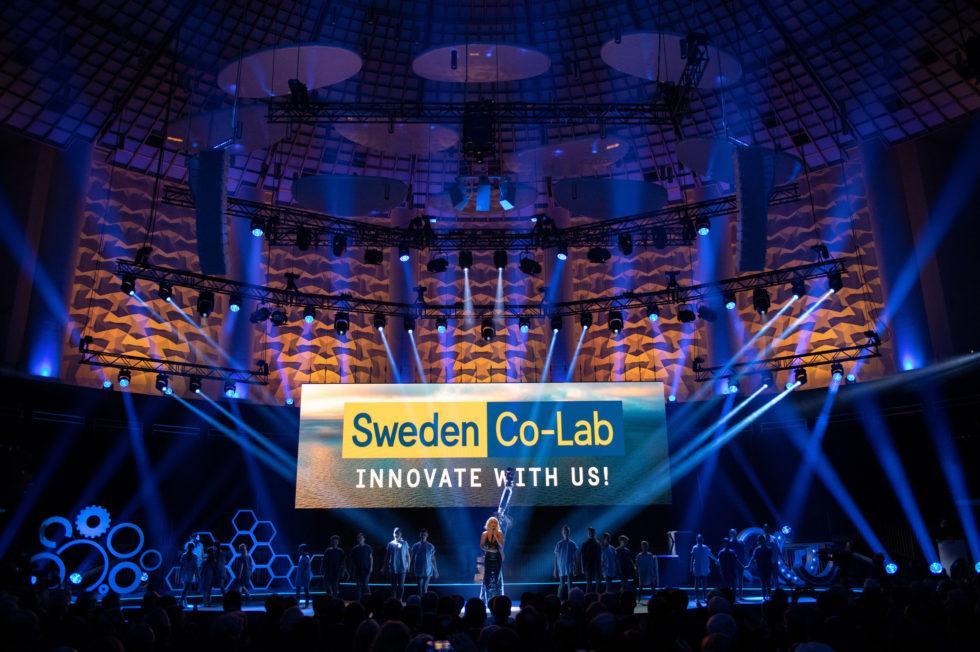 Eröffnungsfeier der HANNOVER MESSE, Sonntag den 31. März 2019, Hannover Congress Centrum, Show Act Schweden, Loreen, Sängerin