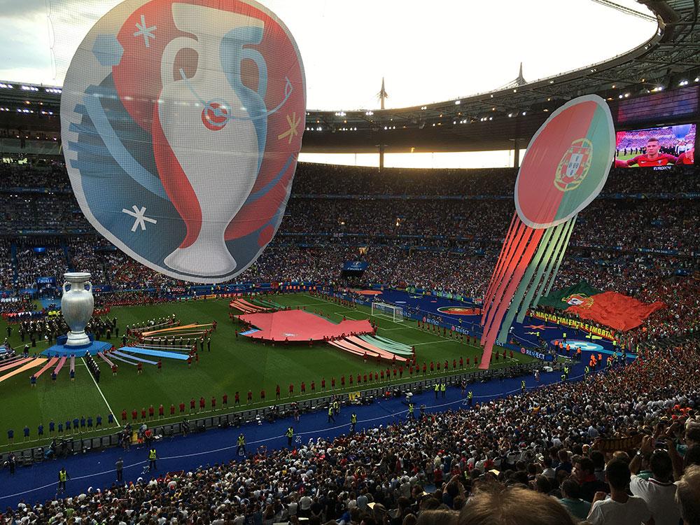 Finaldags på Stade de France. Foto: Mats Widbom