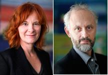 Nina Röhlcke och Mathias Lafolie tillträder sina tjänster som kulturråd i Berlin respektive Peking den den 1 september.