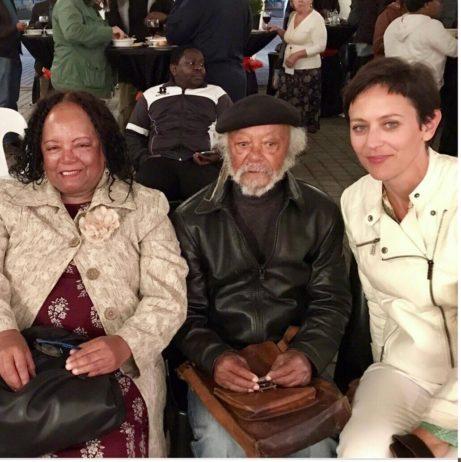 Med legendarerna James Matthews and Diana Ferrus, båda poeter