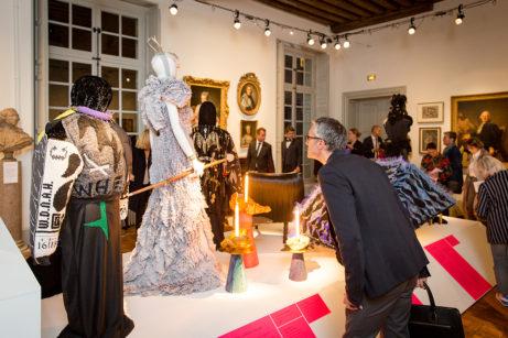 Tessininstitutets konstsamling i nyhängning i dialog med utställningen Next Level CraftFoto: Luca Lomazzi