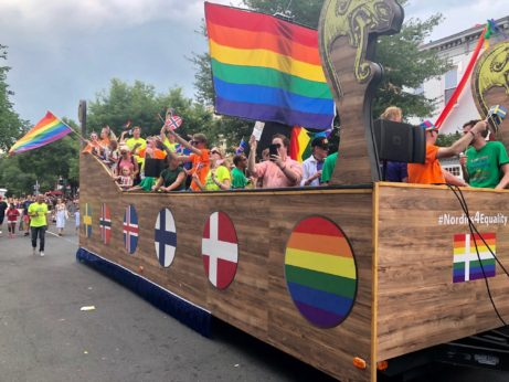 Pride Parade Viking Style 2018