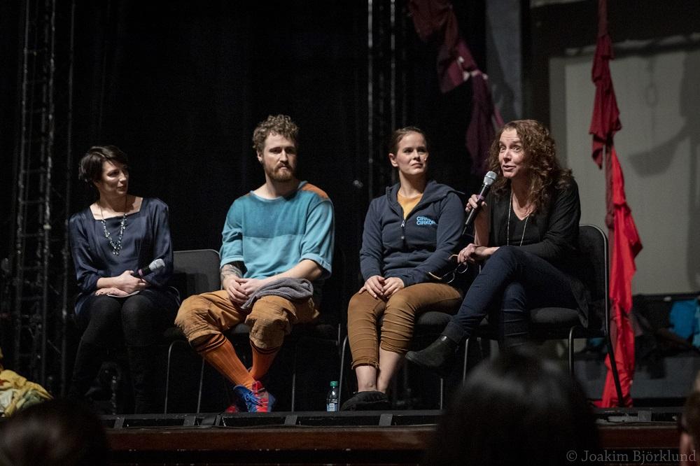 Talk back med (Foto: Joakim Björklund)