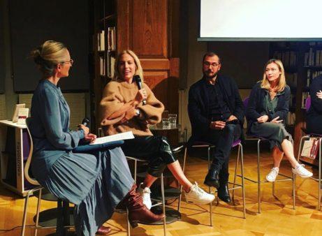 Paola Bjäringer på Institut Français. Foto: Pia Lundberg