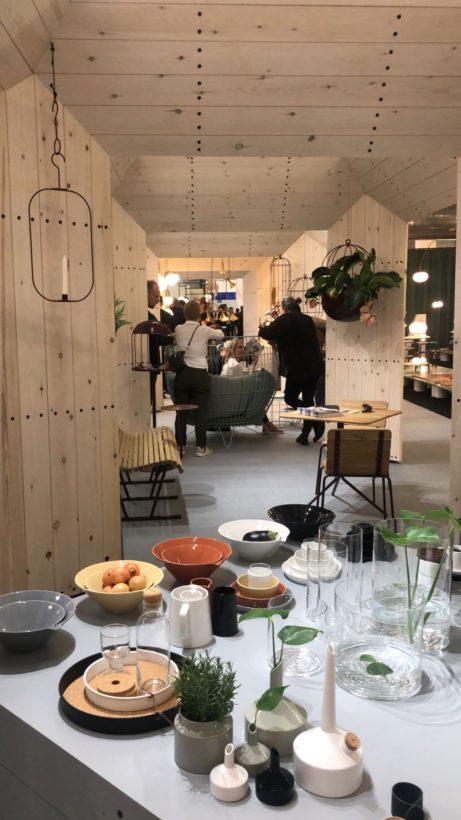 Den svenska paviljongen på London Design Fair. Foto: Eda Ayranci