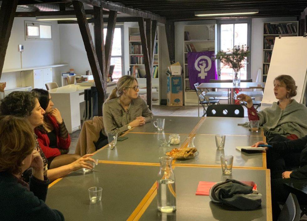 Besök hos Anadolu Kültür och verksamhetsledarna Asena Günel och Aslý Cetinkaya.