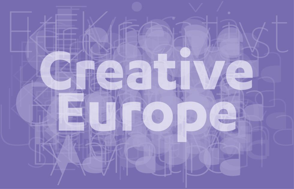Logotyp för Kreativa Europa