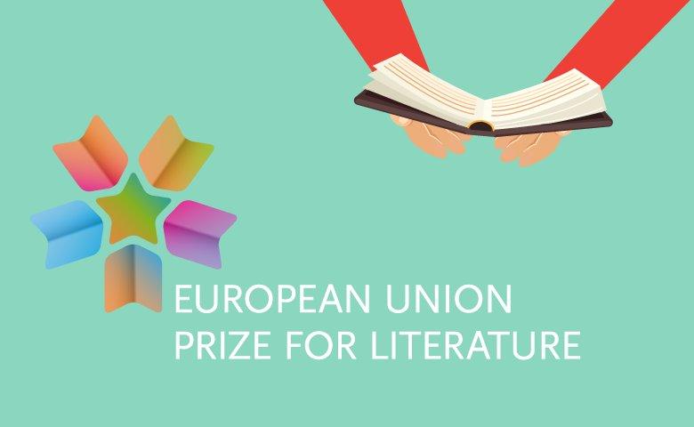 Logotyp för EU:s litteraturpris.